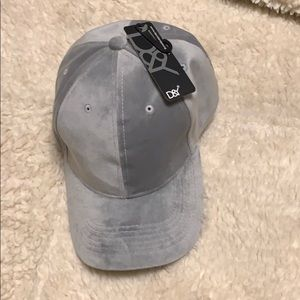 David and young gray soft hat. Brand new.